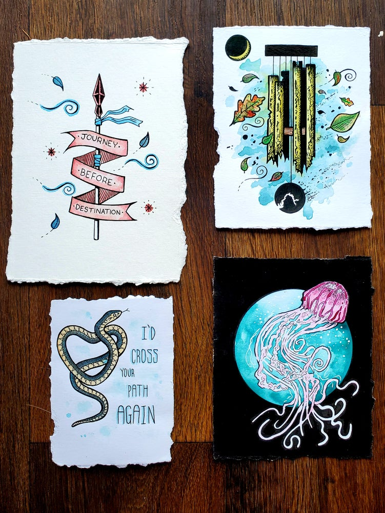 Image of Small Ink Originals #1 - Free Shipping