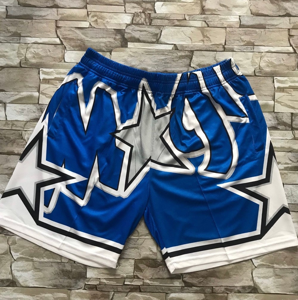 Image of Magic print style shorts