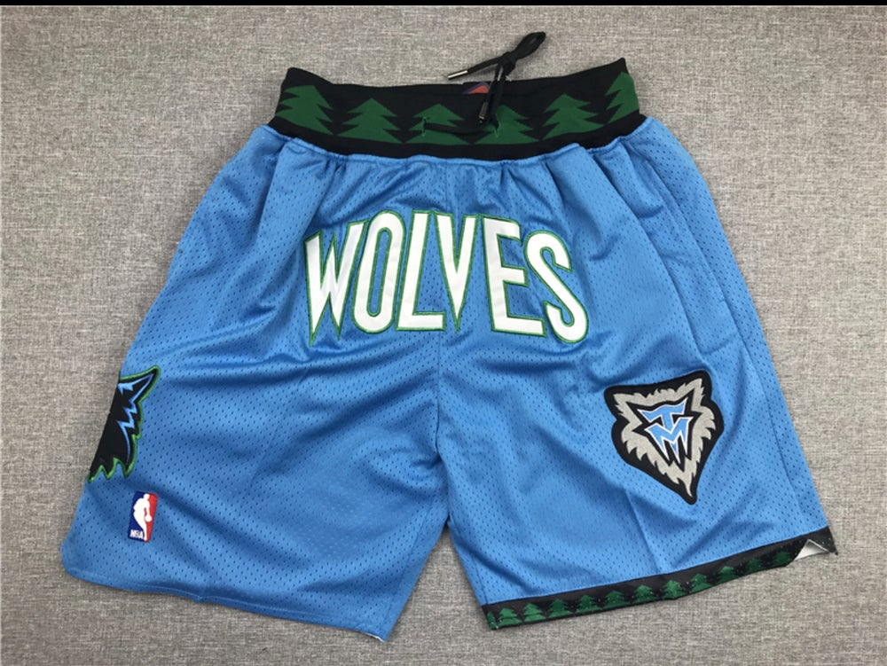 Image of Timberwolves stitched shorts