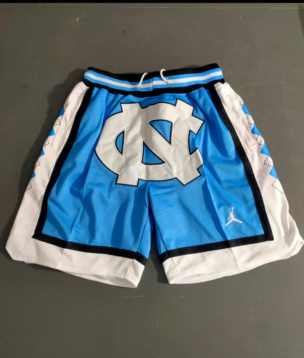 Image of Carolina stitched shorts