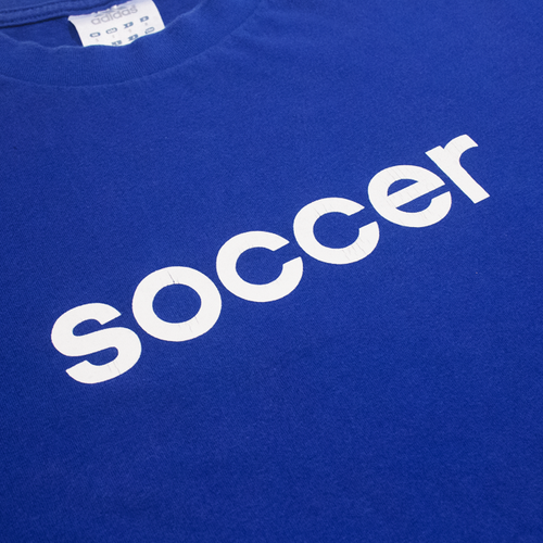 Image of Adidas Soccer Tee Size S