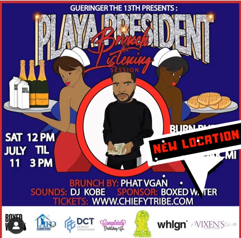 Image of Playa President: Brunch x Listening Session