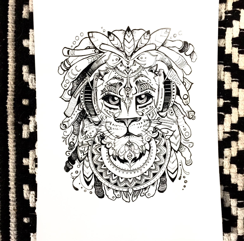 Image of I Am Royal -Print