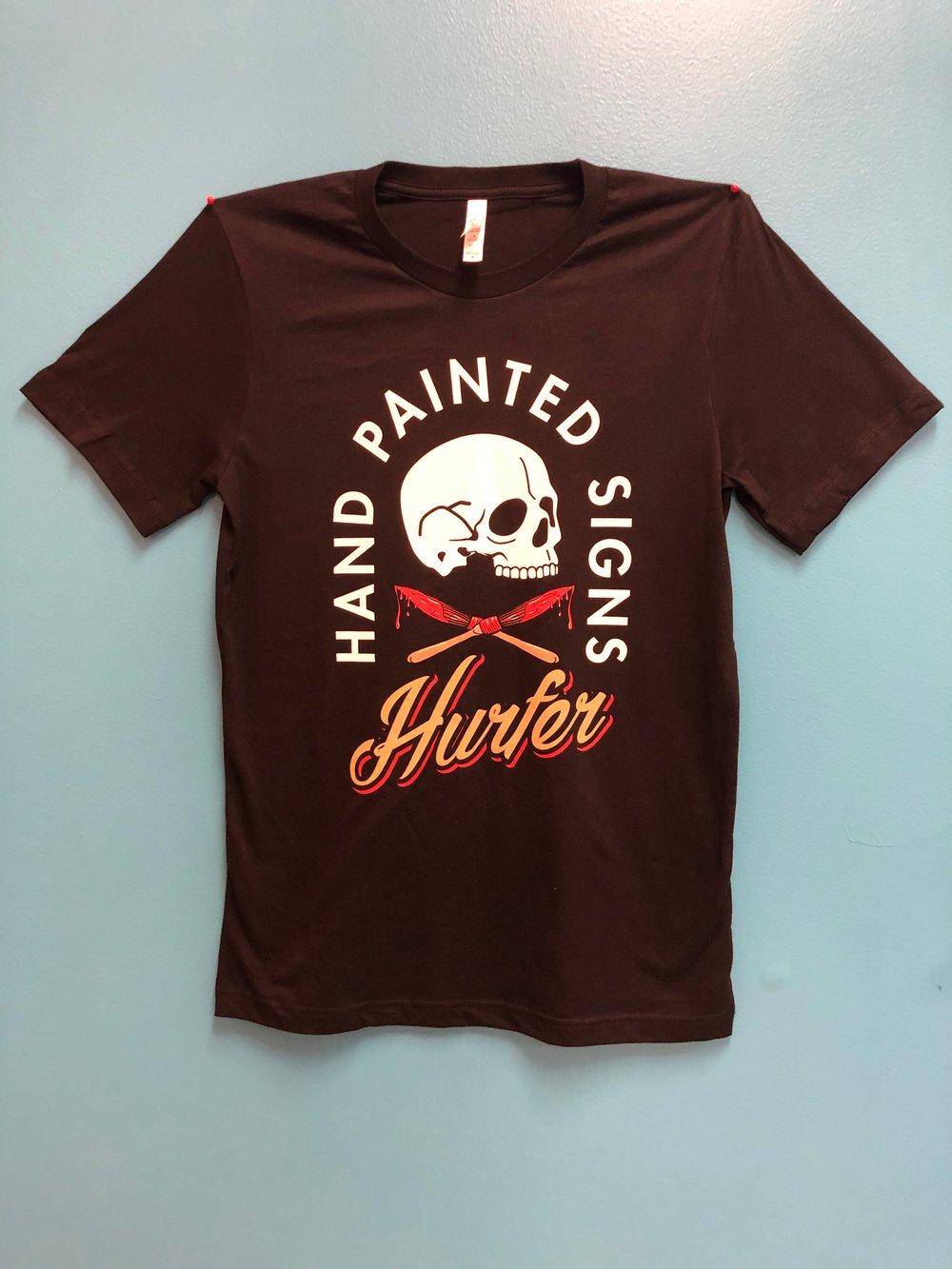 Hurfer Skull T-shirt