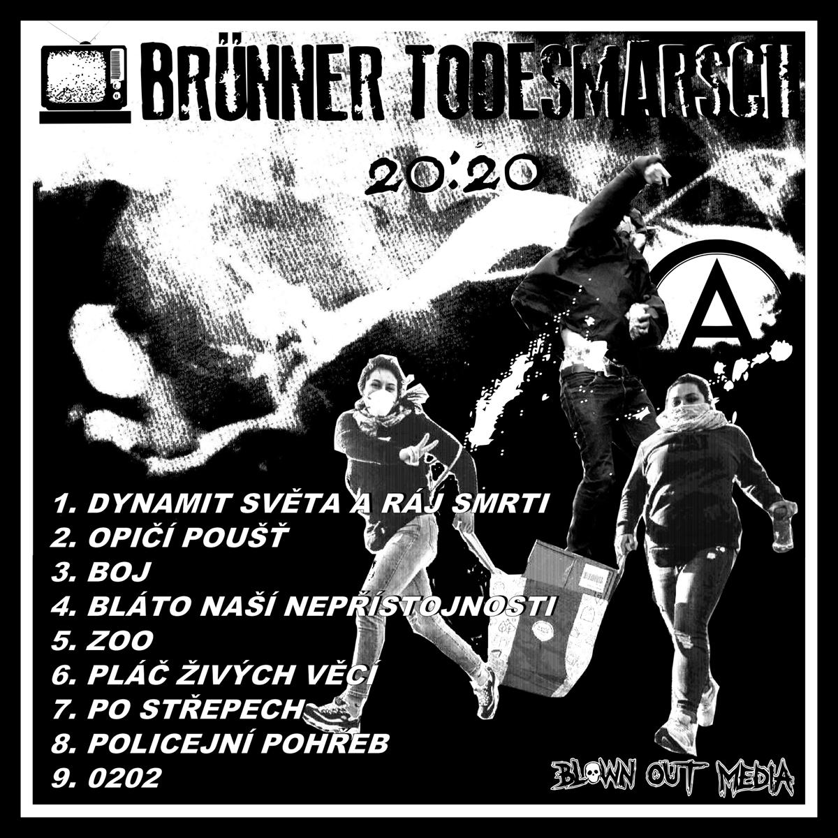 Image of Brünner Todesmarsch 20:20 EP vinyl 7-inch record