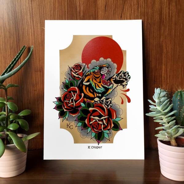 Image of Tiger Art Print