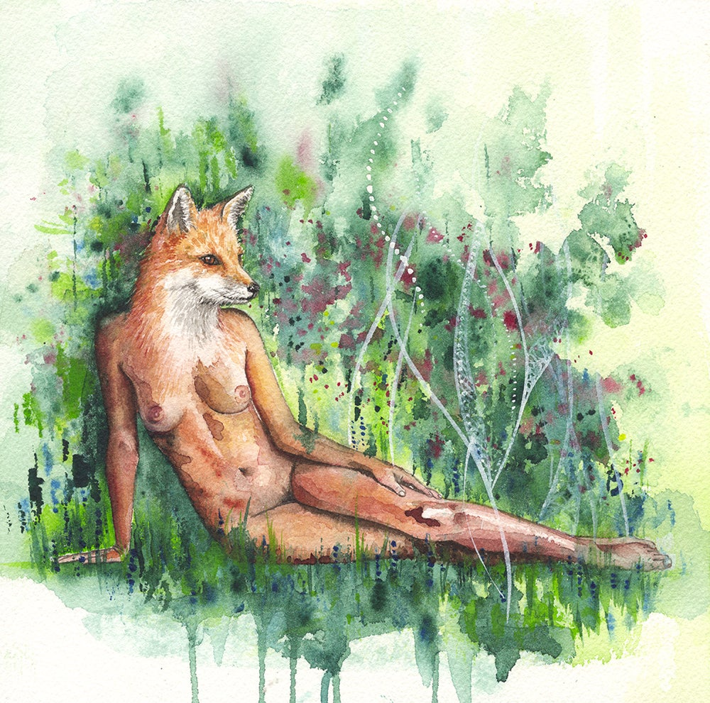 Image of Fox Woman