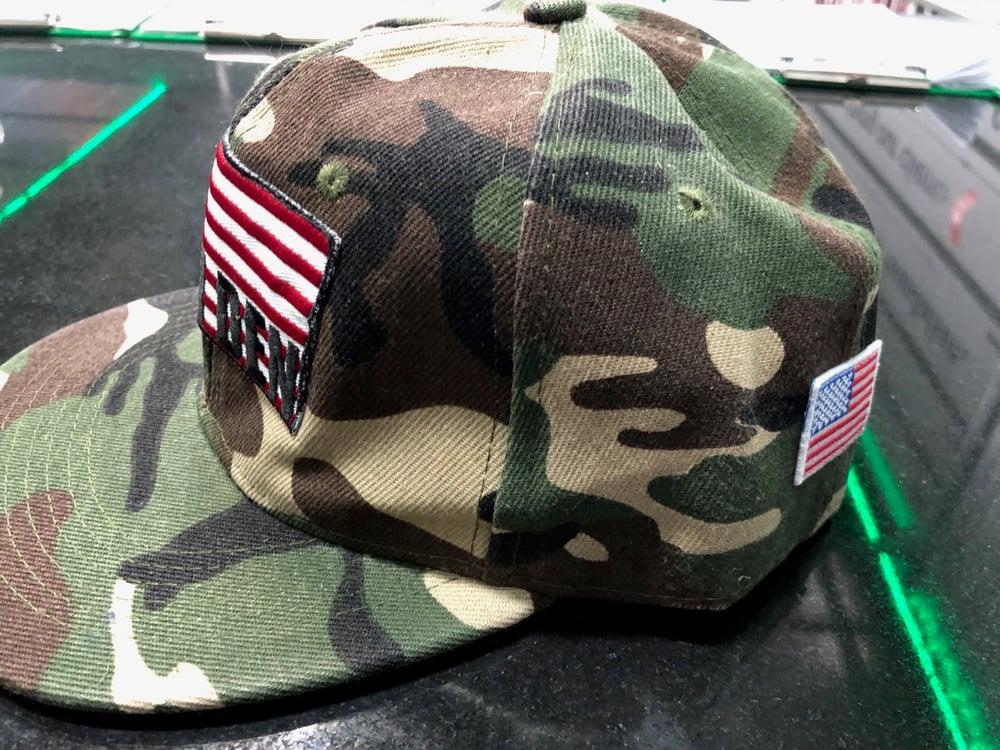 Iron Den Hat - Green Camo