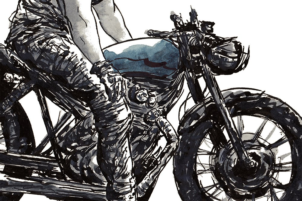Image of Rider 5 | Art Print