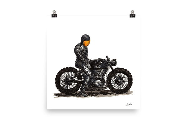 Image of Rider 6 | Art Print