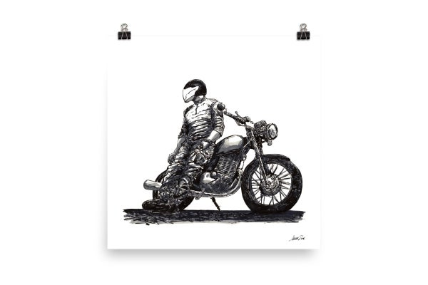 Image of Rider 8 | Art Print