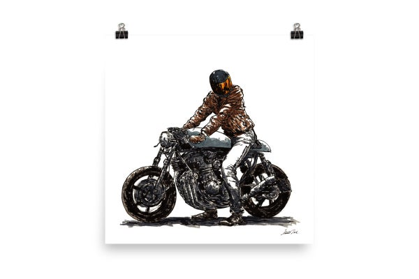 Image of Rider 11 | Art Print