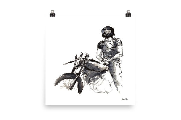 Image of Rider 12 | Art Print