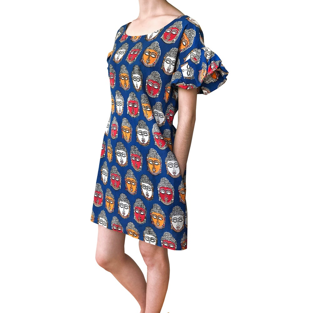 Image of Multicolore Buddha Dress