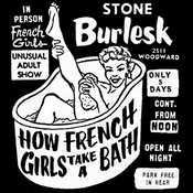 Image of How French Girls Take A Bath [Poster]