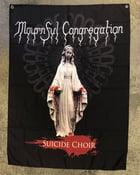 Image of MOUNRFUL CONGREGATION 'Suicide Choir' banner