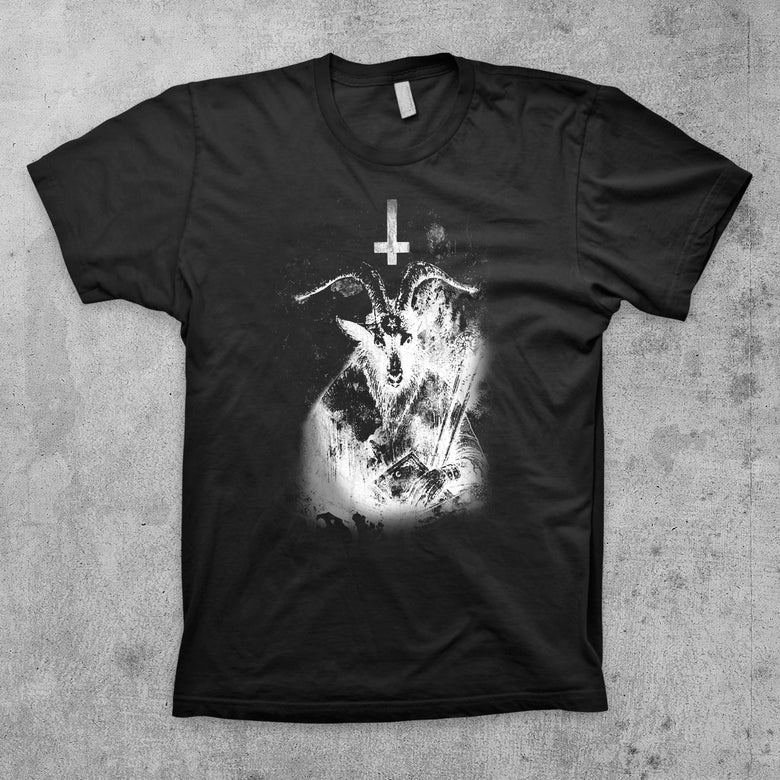 Image of BLACK BAPHOMET T Shirt