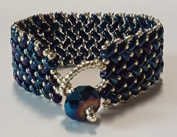 "Image of Bracelet, Herringbone Weave (6.5"")"