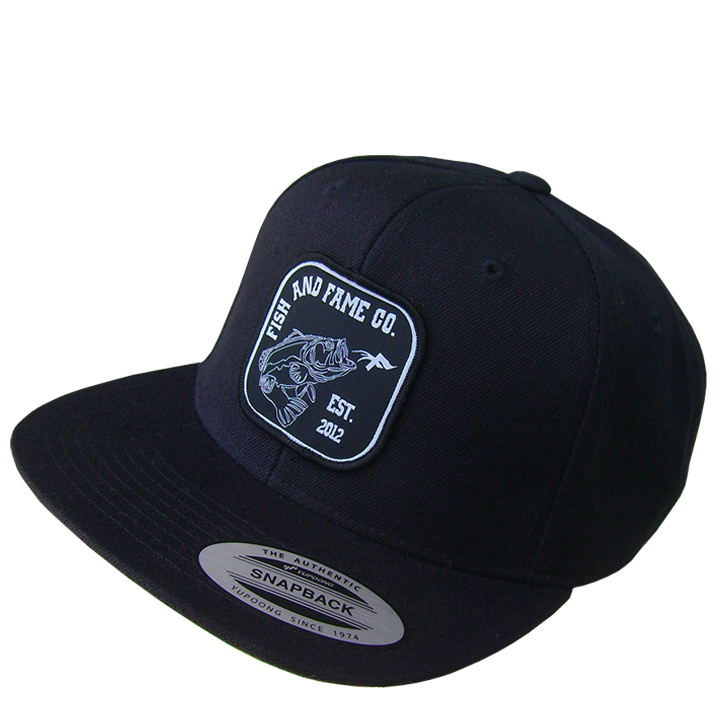 Image of Bass & Co. Snap Back (black)