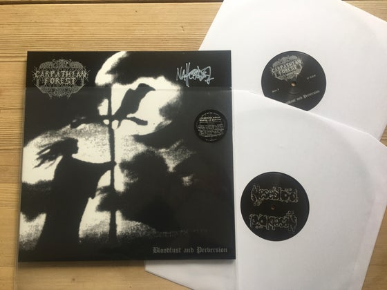 Image of Carpathian Forest 2xlp demo Signed Nattefrost