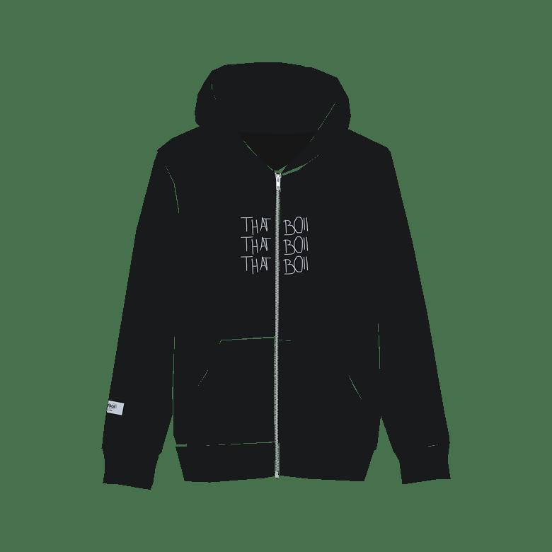Image of THATBOII zipper - black