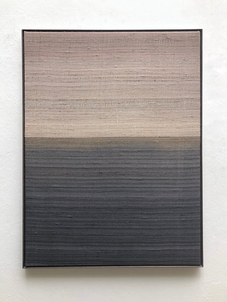 Image of abstract silk composition (dawn)