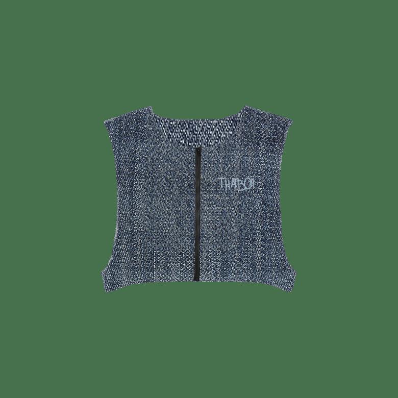Image of THATBOII tour de munich vest - jeans