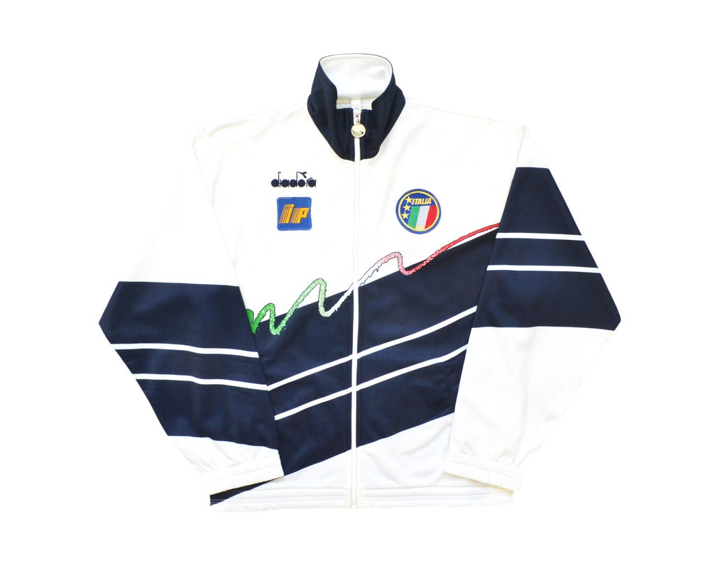 Image of 1990-92 Diadora Italy Player Issue Track Jacket  L