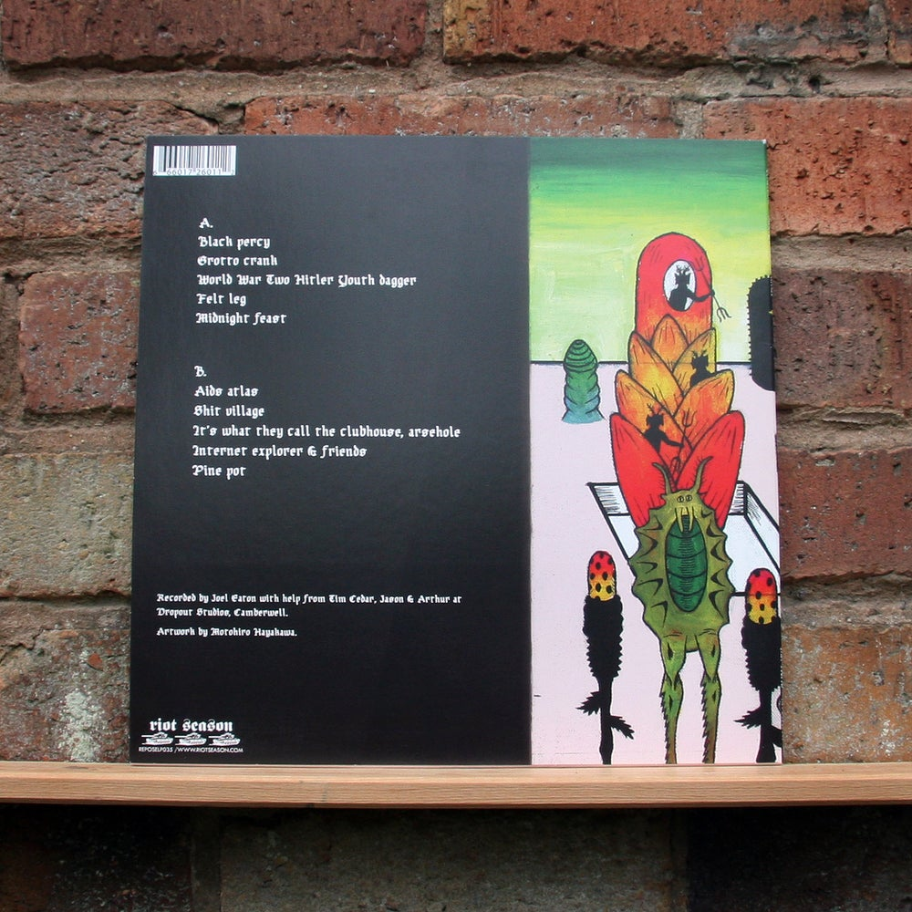 DETHSCALATOR 'Racial Golf Course No Bitches' Pink Vinyl LP