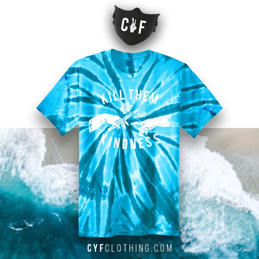 Image of CREATION OF KINDNESS (UNISEX)- Turquoise
