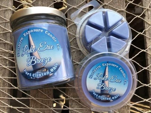 """Image of """"Lake Erie Breeze"""" Soy Candle"""
