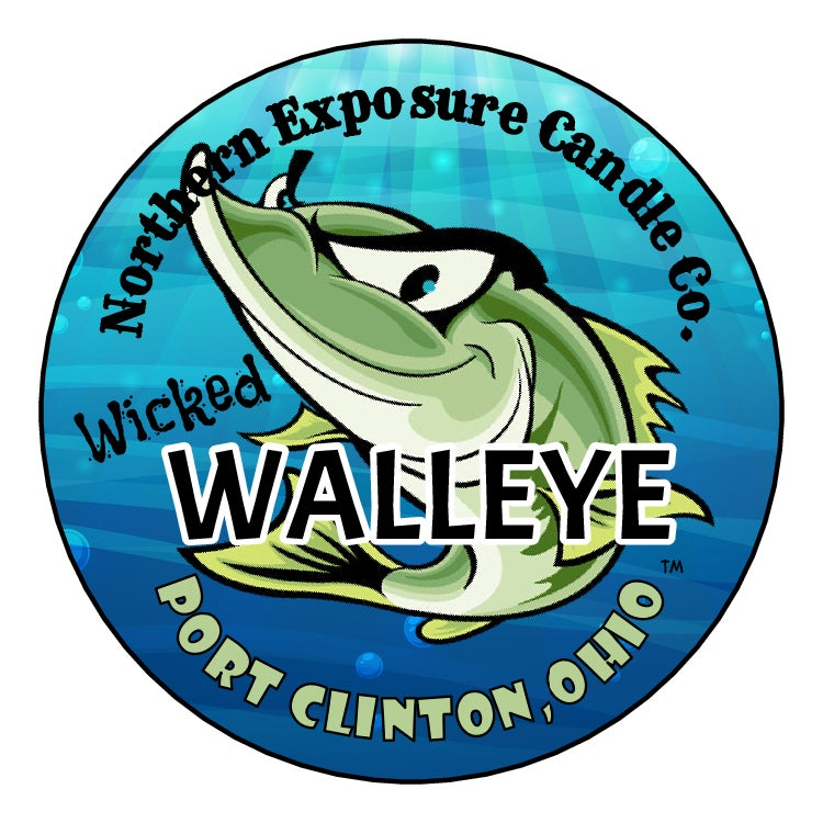 """Image of """"Wicked Walleye"""" Soy blend Candle & melt"""