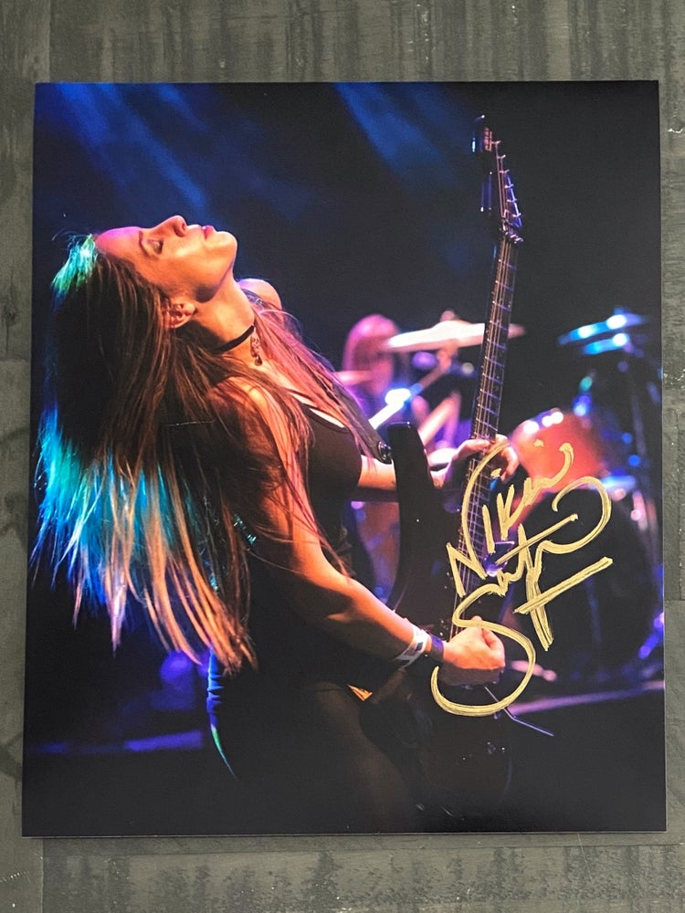 Image of Shred Signed 8X10