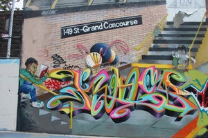 Image of Aerosol Art Culture: A Day At Grafitti Hall Of Fame