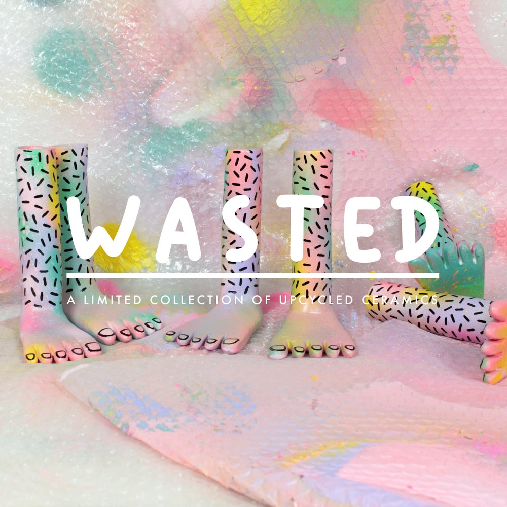 Image of WASTED - Upcycled ceramics - the Tie-dye series