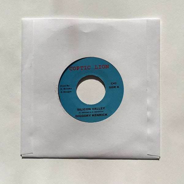 Image of DIGGORY KENRICK - SILICON VALLEY 7""