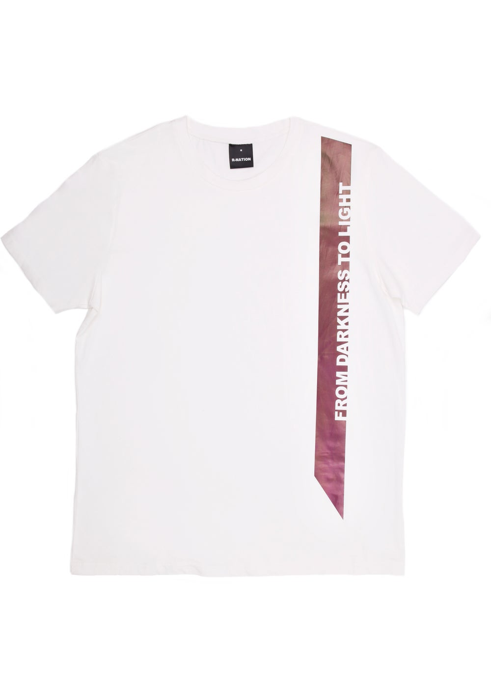 Image of FROM DARKNESS TO LIGHT WHITE TEE SHIRT