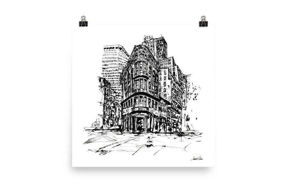 Image of Urban Inkscape 7 - London | Art Print