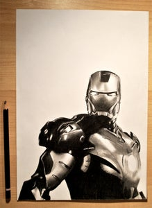 Image of Iron Man Portrait