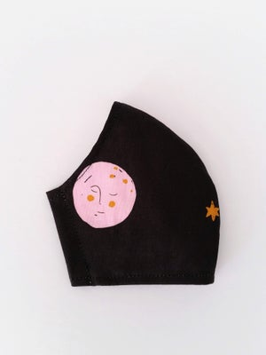 Image of WOMENS Mask - Pink Moon
