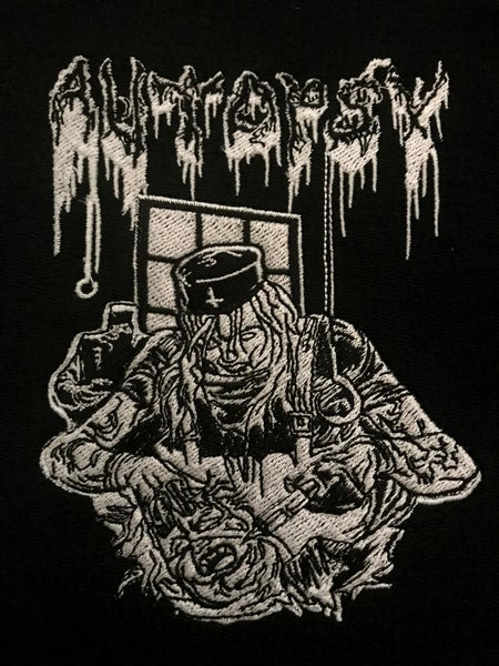 Image of Zombie Nurse Embroidered Patch