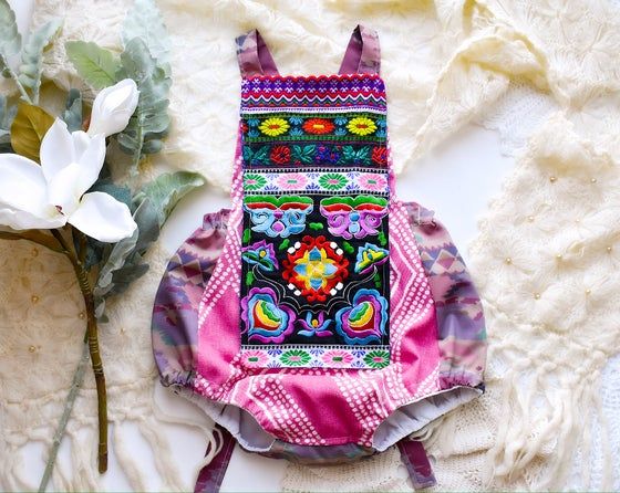 Image of Embroidered Poplar Playsuit