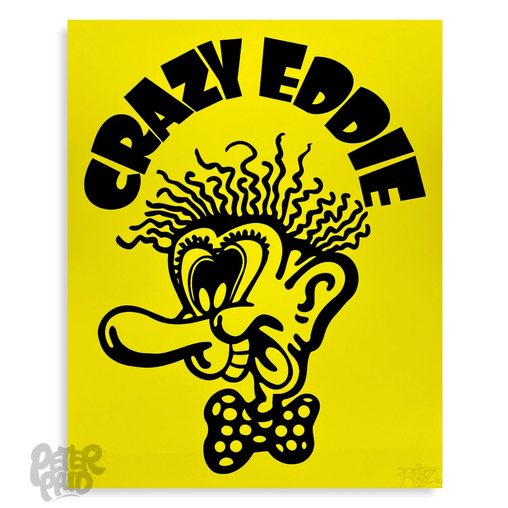 Image of Crazy Eddie - Archival Print