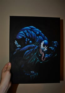 Image of Venom Acrylics on Canvas