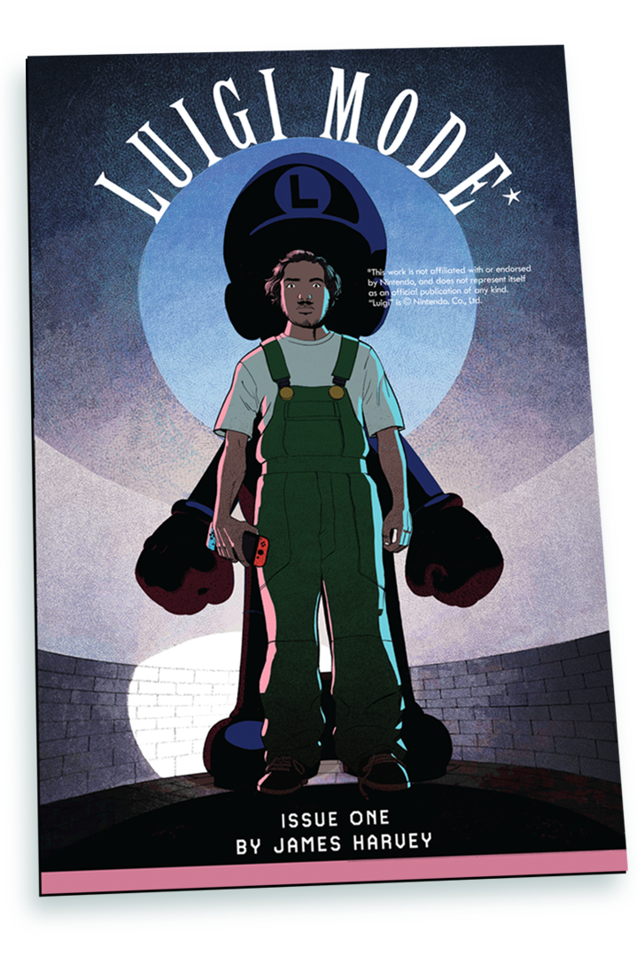 Luigi Mode Issue One (First Printing)