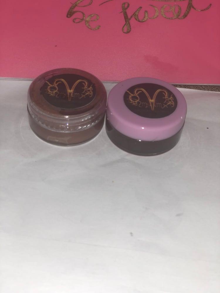 Image of Chocolate Royalty and Brown Sugar Lip Scrub and Glossy Lip Balm Set
