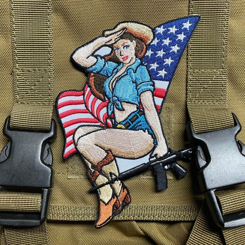 Image of Old Glory Pinup Patch