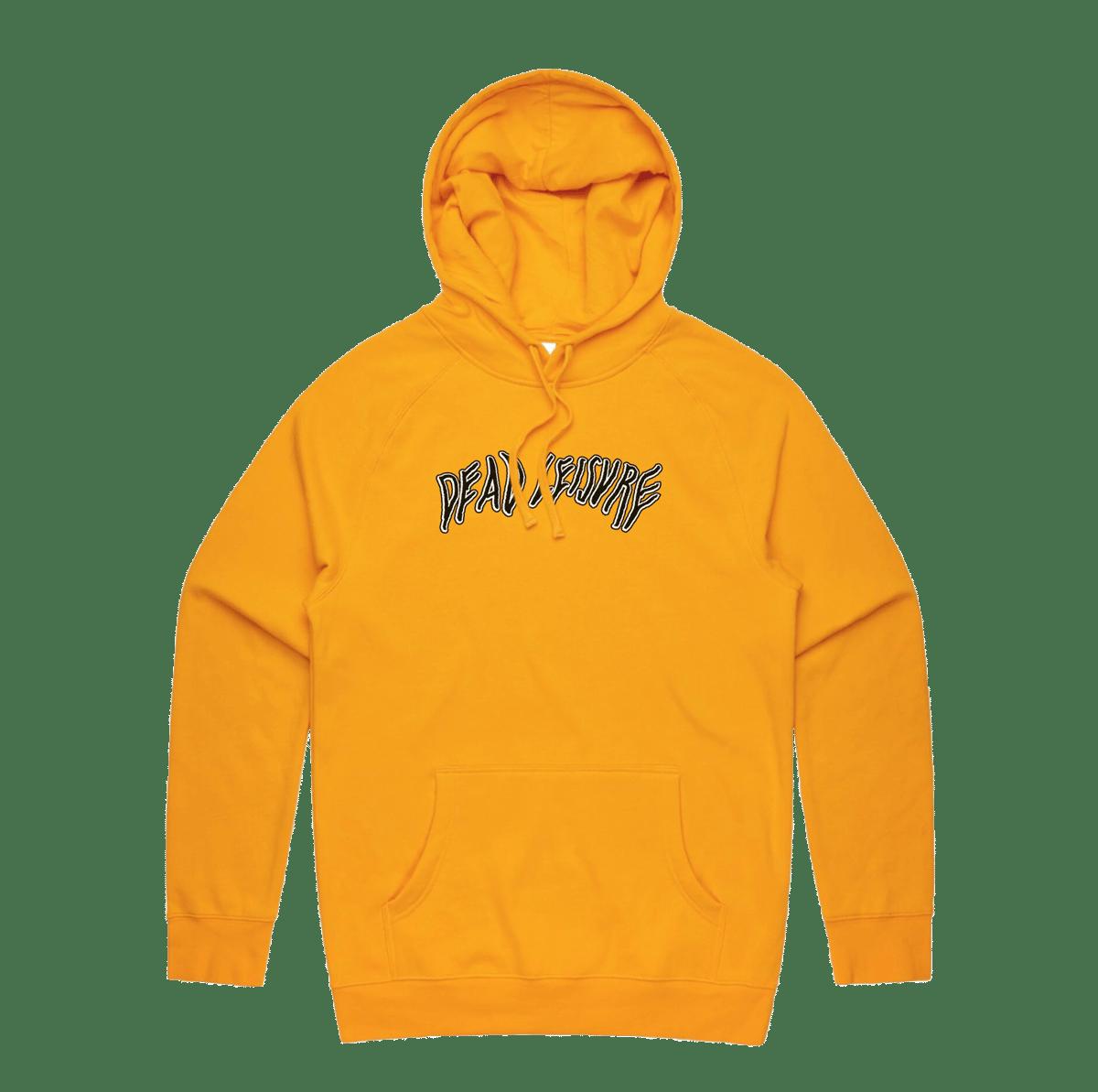 Dead Melt Logo Pullover Hoodie - Gold