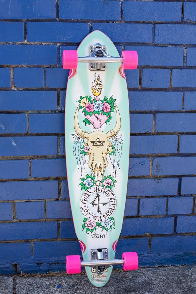 "Image of ""Gypsy Queen"" Longboard"