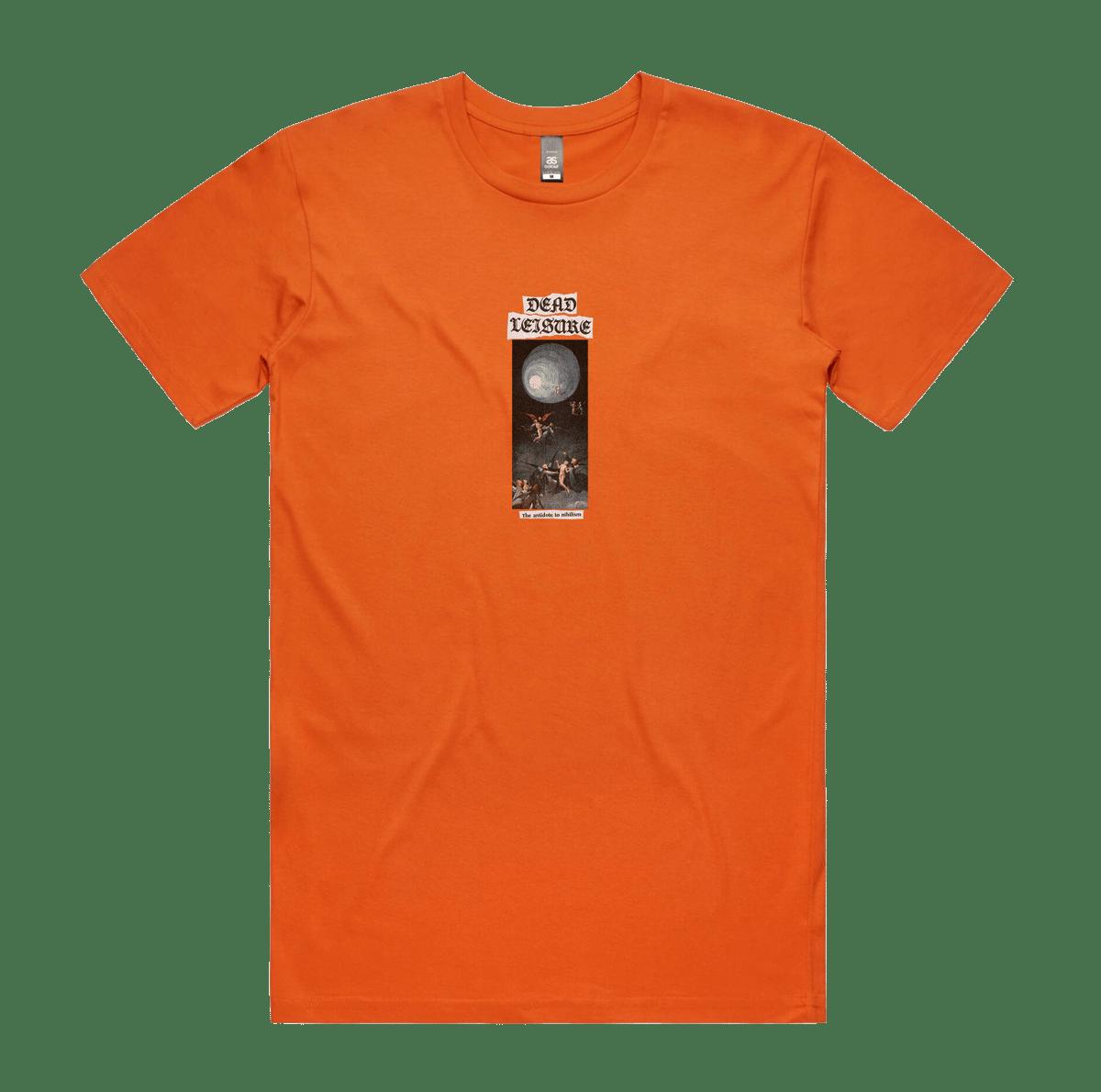 Antidote to Nihilism T-shirt - Orange